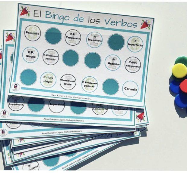 El bingo de los verbos