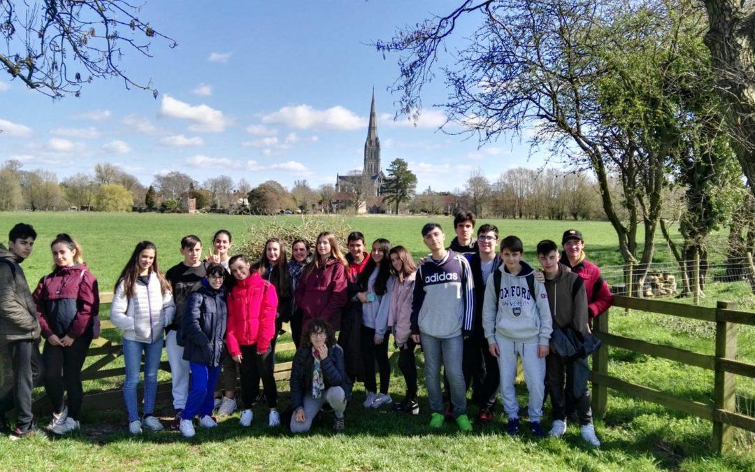 Inmersión lingüística en Salisbury (Inglaterra). Curso 3º ESO