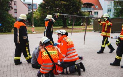 Simulacro de evacuación