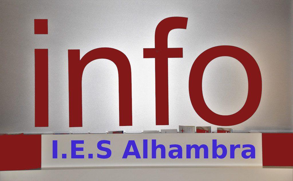 Información proceso de Escolarización – Admisión
